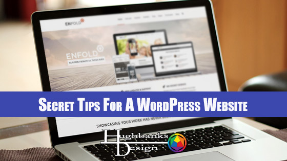 Secret Tips For A WordPress Website